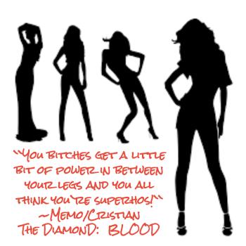 The DiamonD BLOOD Ad 1